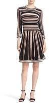 Kate Spade Women's Scallop Stripe Knit Dress