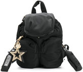 See by Chloe star charm mini backpack - women - Cotton/Polyester/PVC - One Size