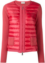 Moncler padded front cropped jacket - women - Cotton/Feather Down/Polyamide - S