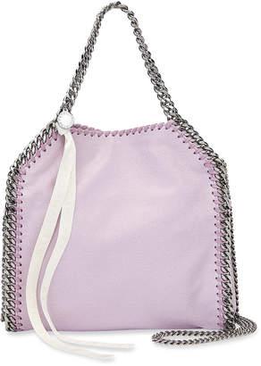 Stella McCartney Falabella Mini Tote Bag with Logo Ribbon
