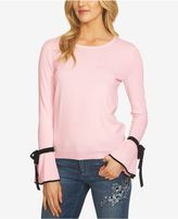 CeCe Tie-Sleeve Sweater