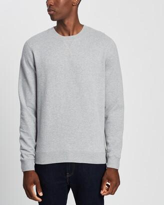 Sunspel Men's Grey Sweats - Sweatshirt - Size M at The Iconic