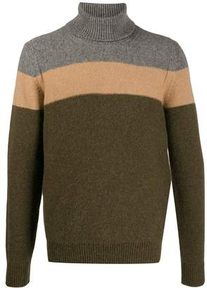 Roberto Collina colour-block jumper