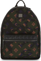 MCM Dieter camo print backpack