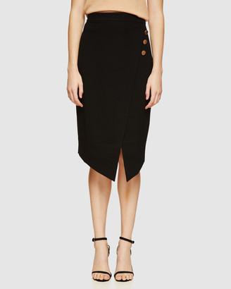 Oxford Grace Ponti Skirt