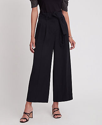 Ann Taylor The Petite Paperbag Culotte Pant