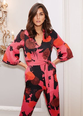 Phase Eight Annora Floral Tapered Jumpsuit