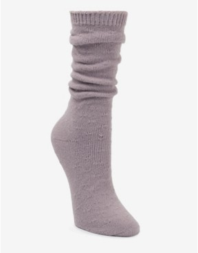 Donna Karan Super Soft Slouch Pointelle Boot Sock