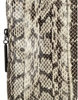 3.1 Phillip Lim Snakeskin Minute Clutch