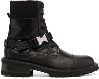 Via Roma 15 Buckled Ankle Boots