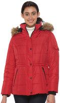 Details Women's Full-Zip Hooded Puffer Jacket