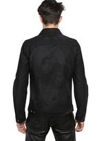 Givenchy Stars & Madonna Printed Denim Jacket