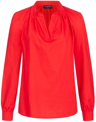 Marianna Déri Tunic Blouse - Red