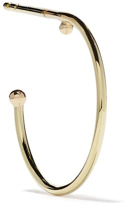 Wouters & Hendrix Gold 18kt yellow gold Ball Hoop earring