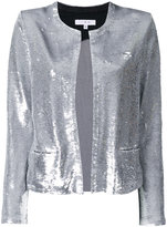 IRO sequin embellished jacket - women - Cotton/Lamb Skin/Spandex/Elastane/Viscose - 38