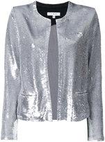IRO sequin embellished jacket - women - Viscose/Spandex/Elastane/Cotton/Lamb Skin - 40