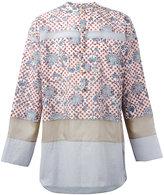 Kolor floral dots shirt - men - Cotton/Cupro/Tencel - I