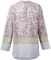 Kolor floral dots shirt