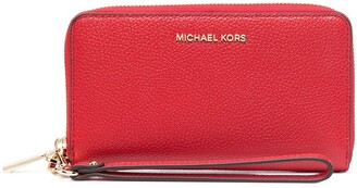 MICHAEL Michael Kors Pebbled-Effect Leather Wallet
