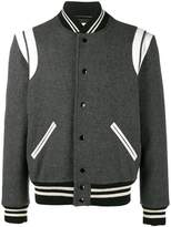 Saint Laurent Varsity bomber jacket