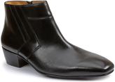Giorgio Brutini Black Blackjack Leather Ankle Boot