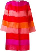 Gianluca Capannolo tonal layered coat - women - Silk - 40