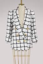 Balmain Plaid jacket