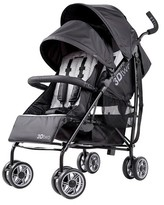 Summer Infant 3Dtwo Double Convenience Stroller - Black
