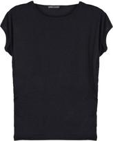 Dolman-sleeve jersey T-shirt
