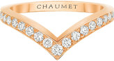 Chaumet Joséphine Aigrette 18ct rose-gold and diamond ring