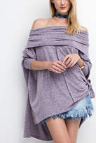 Easel Cowlneck Perfect Tunic