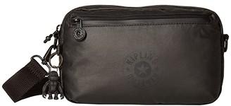Kipling New Classics Halima Convertible Waistpack (Raw Black) Handbags
