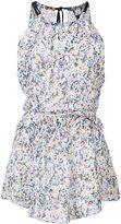 Derek Lam splatter print halterneck blouse - women - Silk - 38