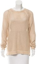 Etoile Isabel Marant Open Knit Crew Neck Sweater