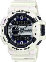 G-Shock Men's Analog-Digital G'Mix White Bracelet Watch 55x51mm GBA400-7C