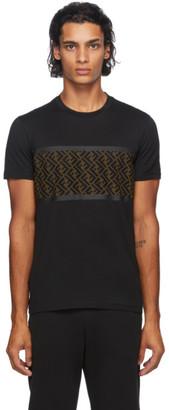 Fendi Black Forever Mesh T-Shirt