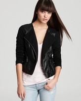 GUESS Jacket - Faux Leather