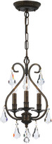 Crystorama 3-Light Ashton Mini Chandelier