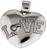Chopard 18K Diamond Love Heart Pendant