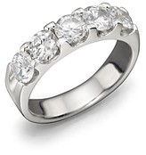 Bloomingdale's Certified Diamond 5 Station Band in 18K White Gold, 2.0 ct. t.w. - 100% Exclusive