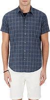 Theory Men's Checked Cotton Shirt