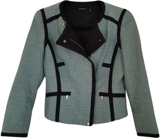 Karen Millen Green Cotton Jacket for Women