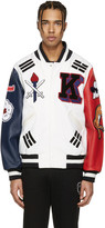 Opening Ceremony White Korea Global Varsity Jacket