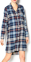 Mono B Check Shirt Dress