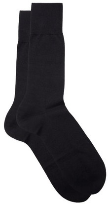 Falke No.6 Finest Merino-blend Socks - Navy