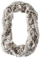 Merona Animal Print Infinity Scarf - Ivory