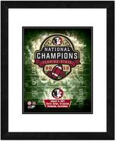 "B.C.S. Florida State Seminoles 2013 National Champions 18"" x 22"" Framed Logo"