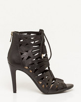 Le Château Leather Lace-Up Shootie