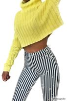 Forever 21 Cropped Turtleneck Sweater
