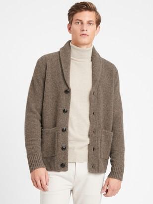 Banana Republic Heritage Luxury Shawl-Collar Cardigan Sweater